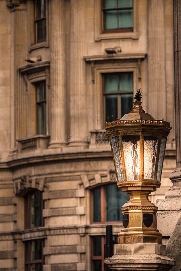 Gatalampa London, Förenade kungariket royaltyfri foto