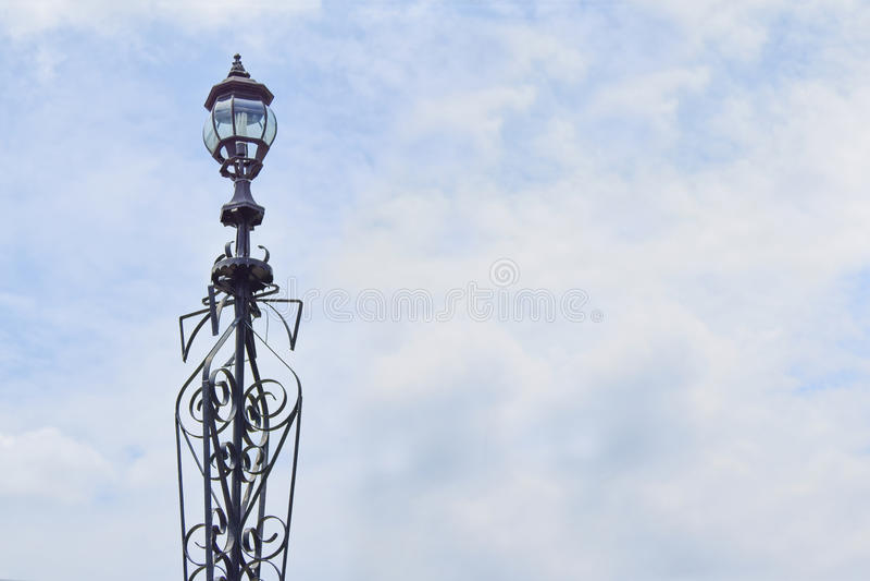 gatalampost streetlightsamling fotografering för bildbyråer