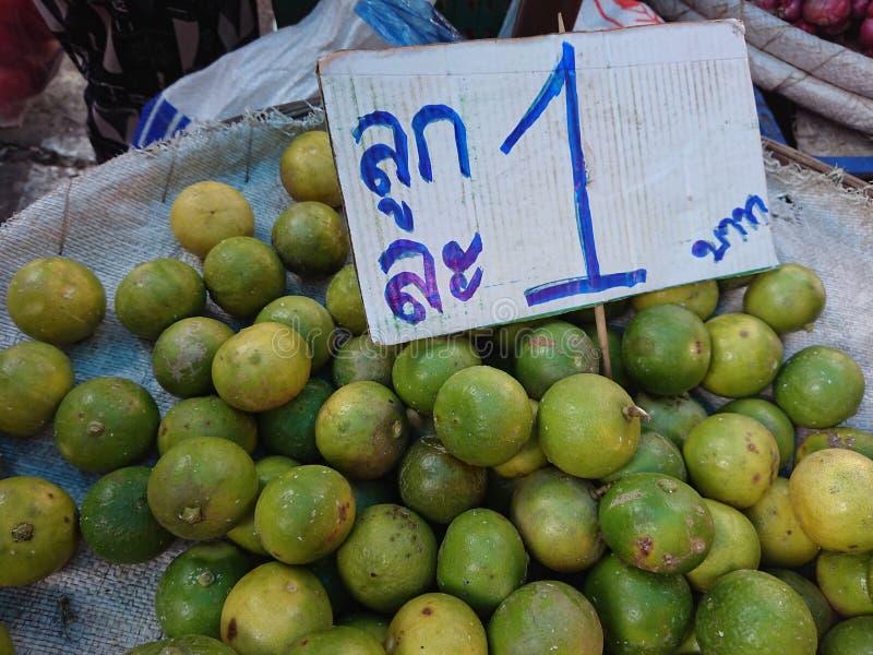 Gatalimefrukt royaltyfri bild