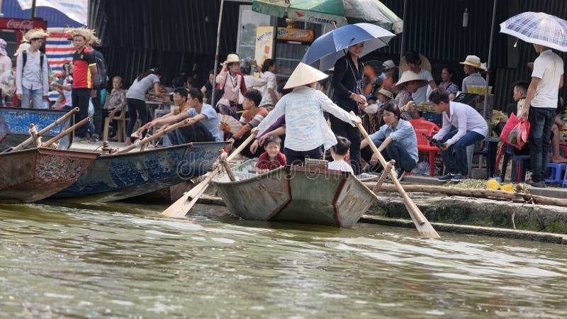 Gatamatförsäljare, Hanoo, Vietnam arkivbilder
