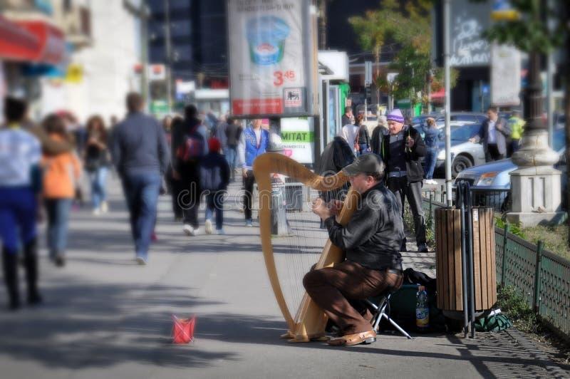 Gatamusik fotografering för bildbyråer