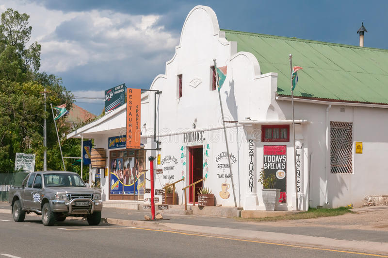 Gataplats i Uniondale royaltyfria foton