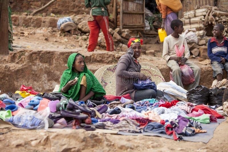 Gatasäljare, Etiopien arkivfoto