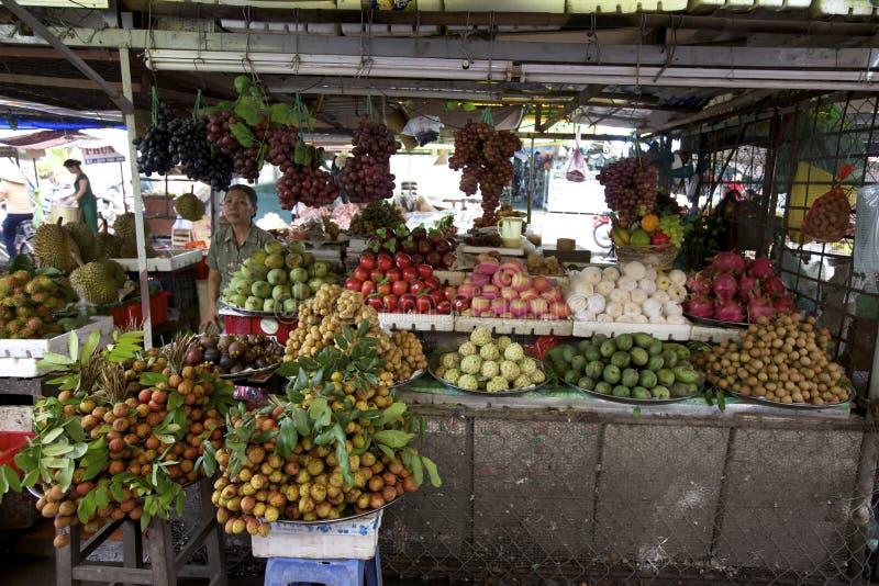 gatasäljare vietnam arkivfoto