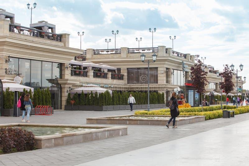 Gatasikt i kazan, Tatarstan rysk federation royaltyfri foto