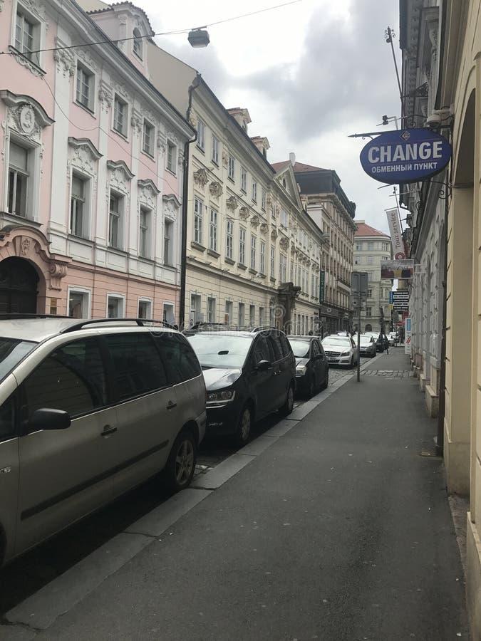 Gatasikt i Krakow arkivfoto