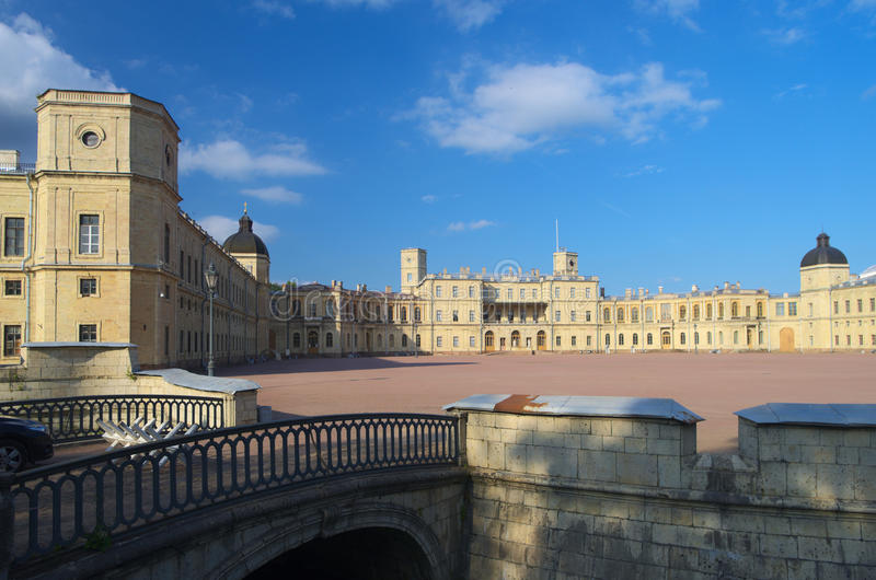 Gatchina palace royalty free stock photo