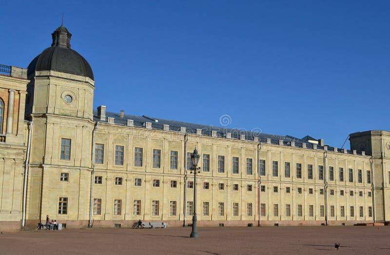 Gatchina slott fotografering för bildbyråer