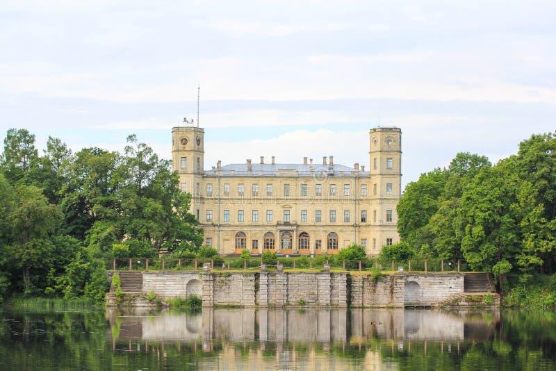 Gatchina slott arkivfoton