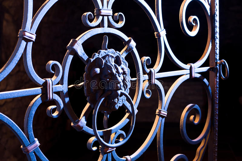 Download Gate stock image. Image of gate, security, entry, iron - 29026171