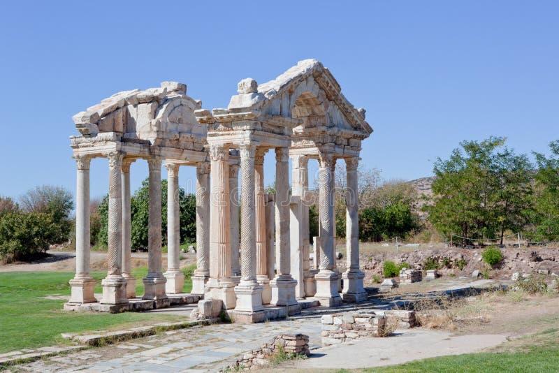 Download Gate in Aphrodisias stock photo. Image of tetrapylon - 22618870