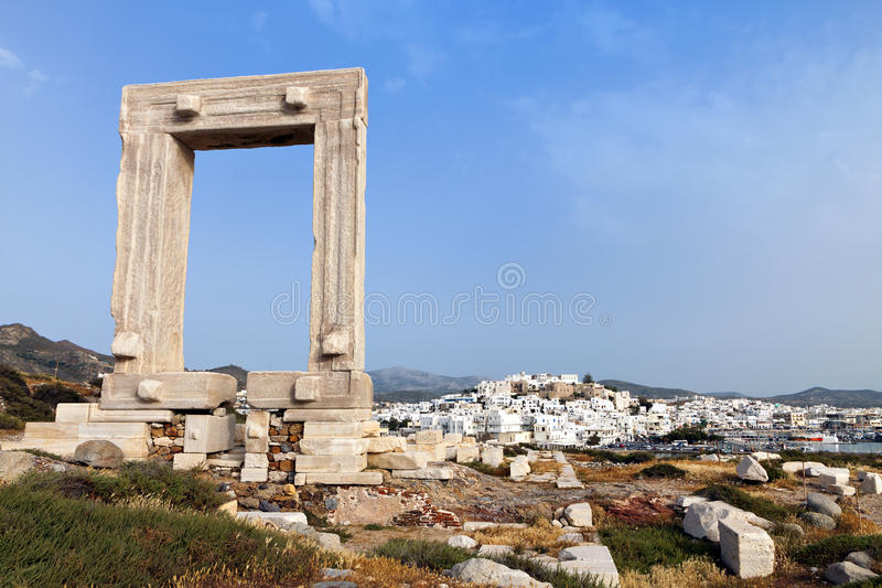 Download Gate Of Apollon At Naxos Island, Greece Royalty Free Stock Images - Image: 31276609