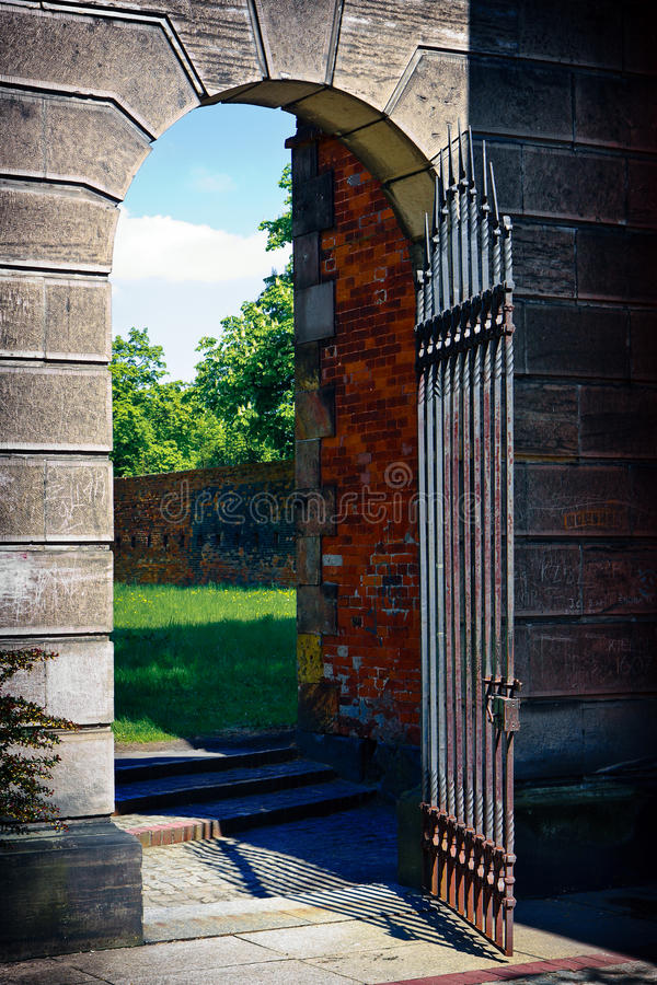 Gate Of Citadel Stock Photography