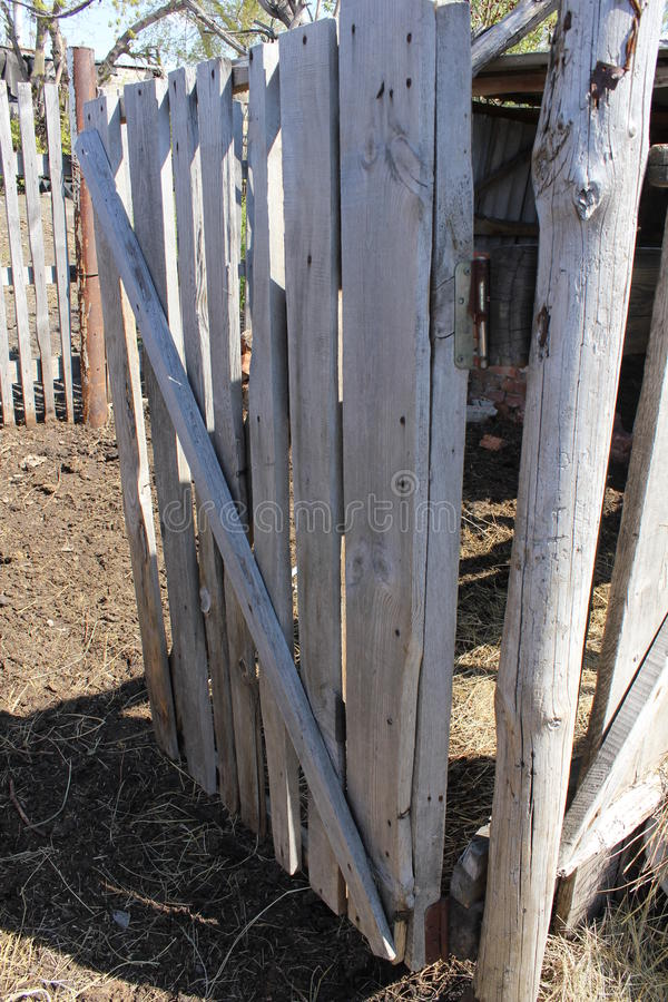 Gate in the corral 19663 royalty free stock photo