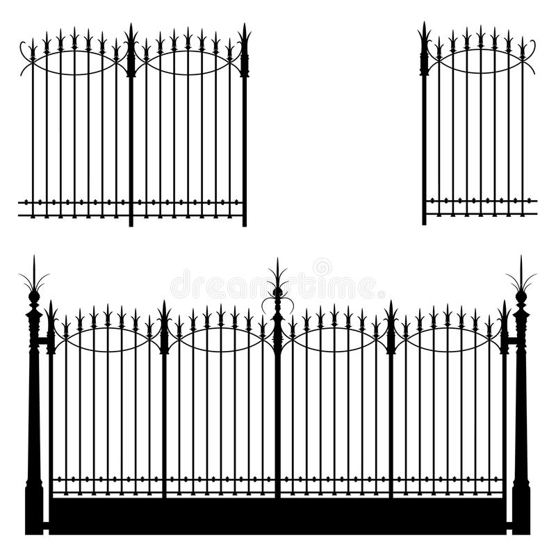 Gate and Fence stock images