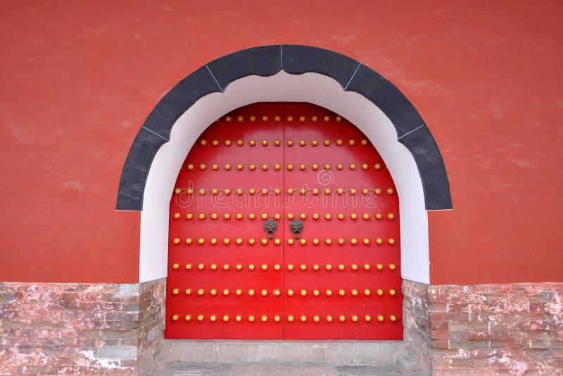 Gate of Ming Xiaoling Mausoleum, Nanjing, China stock image