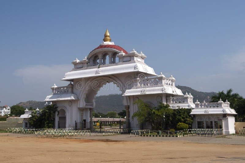 Gate near Mysore Palace,Mysore,Karnataka,India. Beautiful Gate near Mysore Palace, Mysore, Karnataka,India, Asia royalty free stock photos