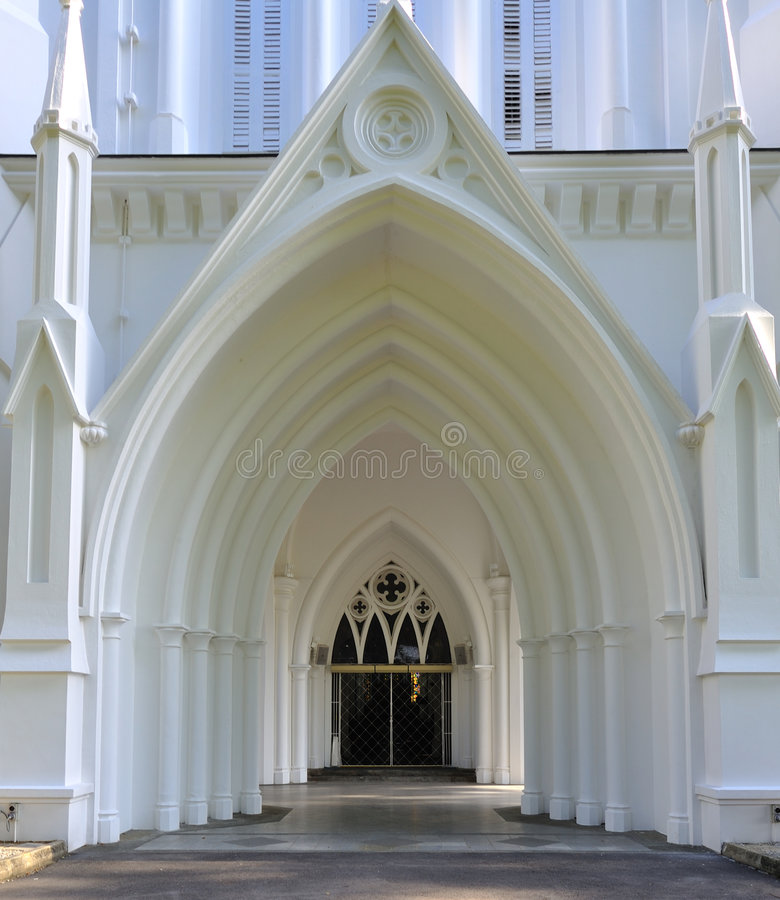 Free Gate Of A Church Stock Photography - 7561692