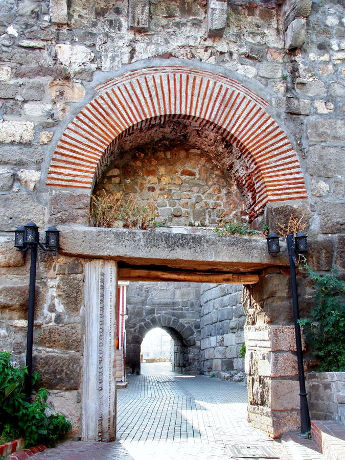 Free Gate Of Ancient Amasra City Royalty Free Stock Photography - 9885167