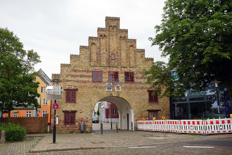 Gate of Old town royaltyfria foton