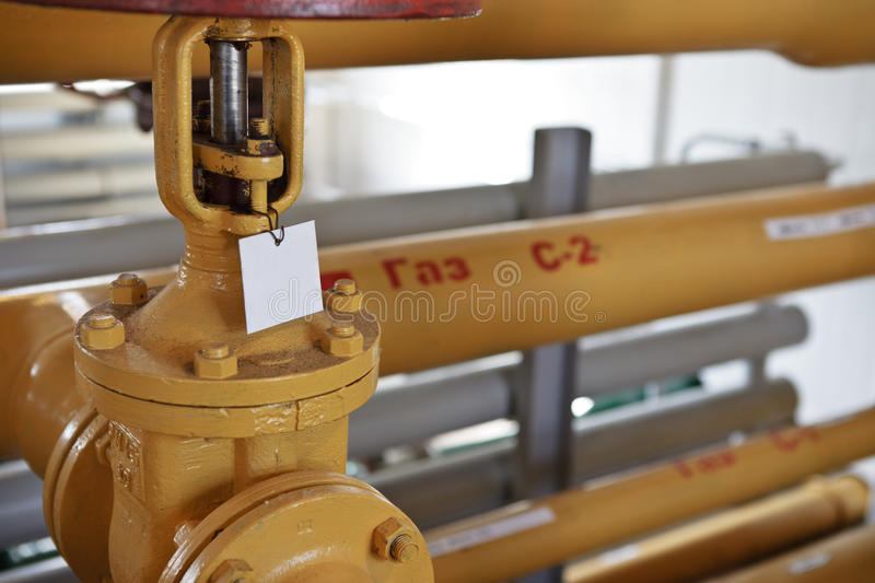 Download Gate And Pipeline On Gas Transfer Stock Images - Image: 16817564