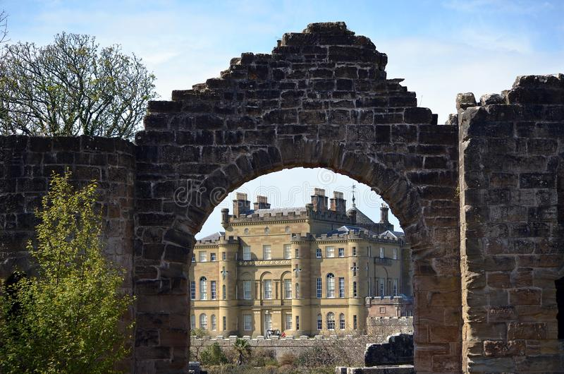 Download Gate to Culzean Castle stock image. Image of weather - 24326751