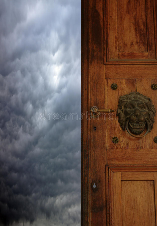 Gate To  Heaven Stock Images