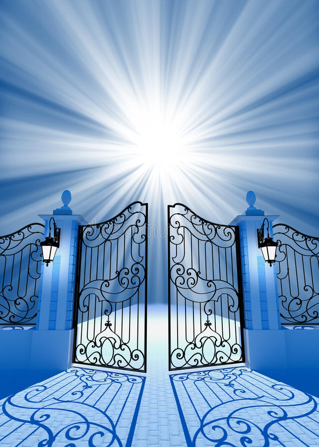 Download Gate to light stock photo. Image of idea, heaven, aspirations - 20550552