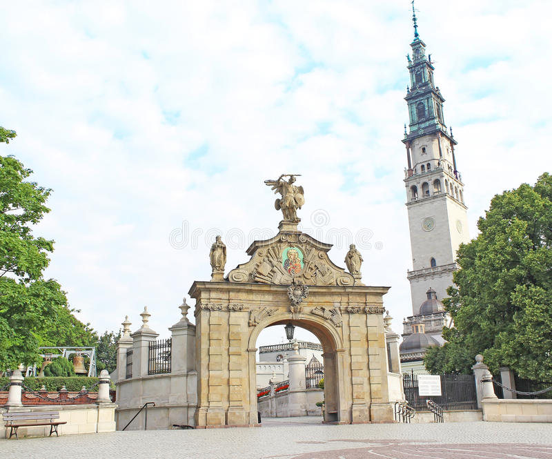 Download Gate To The Shrine Of Jasna Gora In Czestochowa Stock Photo - Image of conversion, christianity: 31928572