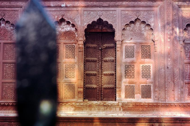 Gate of The Tomb Of A Maharaja royalty free stock images
