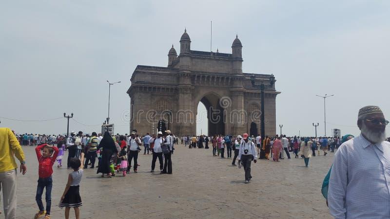 gate way of india royalty free stock photos
