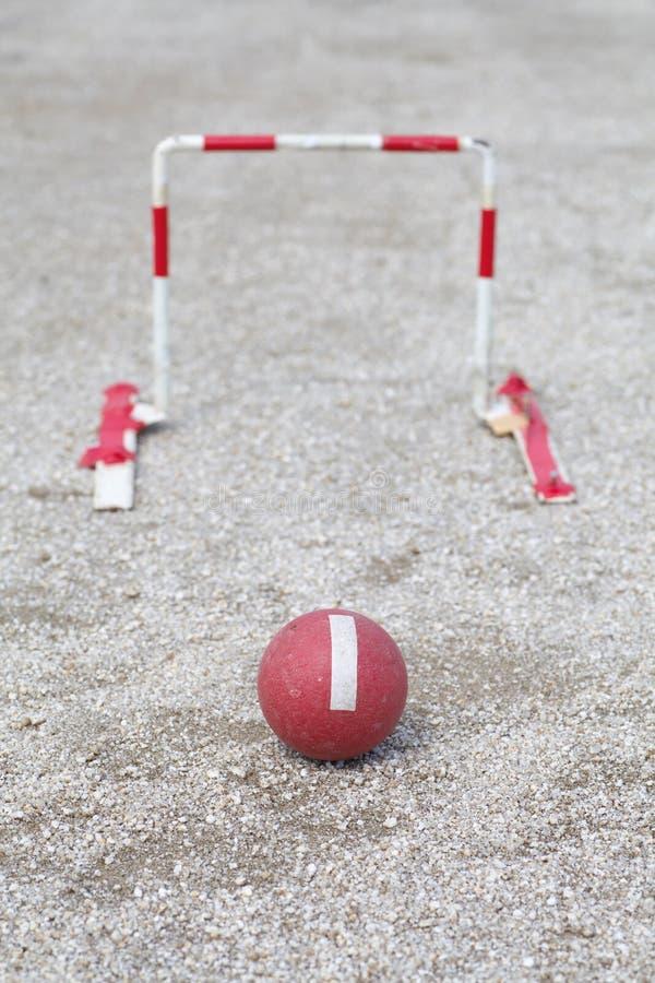 Download Gateball japonés imagen de archivo. Imagen de pulso, backyard - 41905595