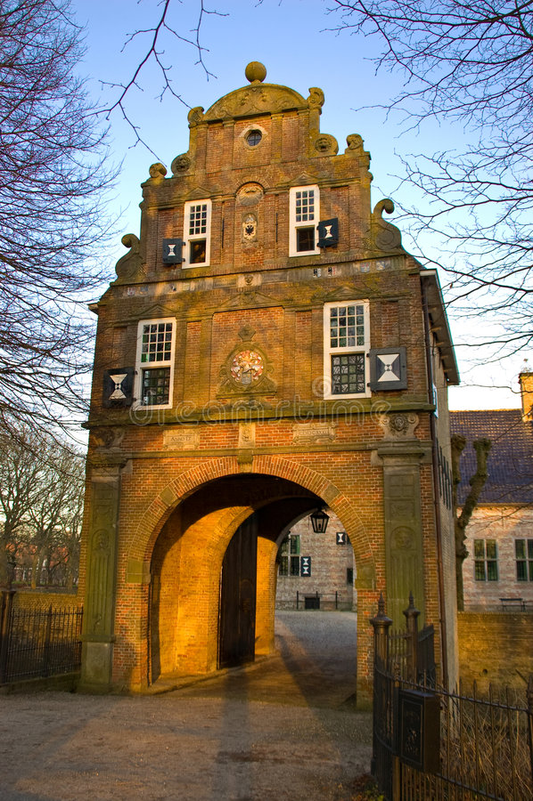 gatehouse fotografia royalty free