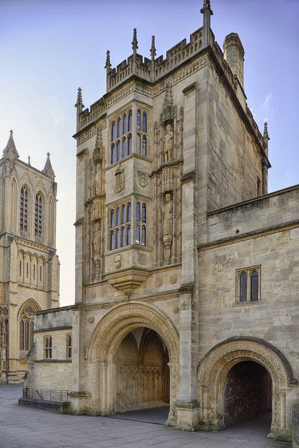 Gatehouse degli abbot o di Abbey Gateway fotografie stock