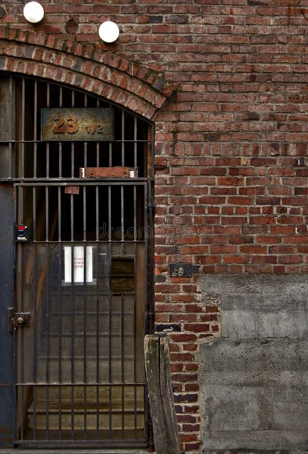 Gates and Brick royalty free stock image