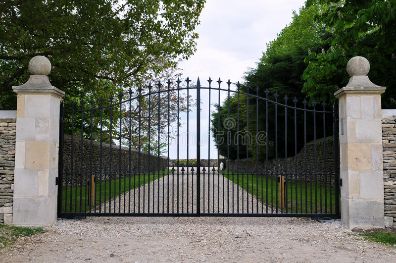 Gates of a Country Estate