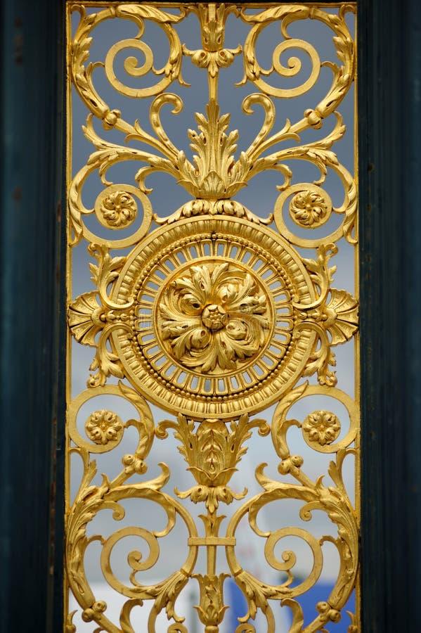 Gates of Jardin des Tuileries Gardens royalty free stock image