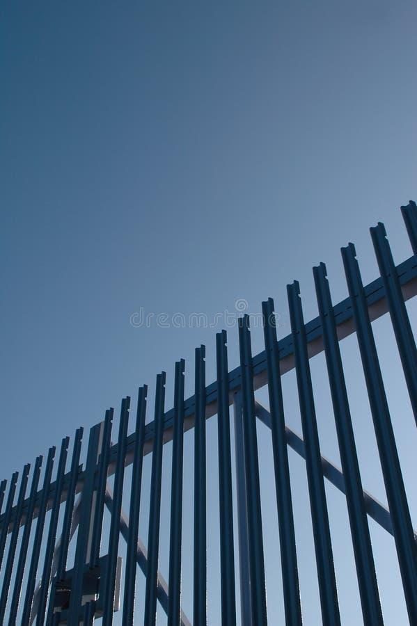 gates säkerhet arkivfoton
