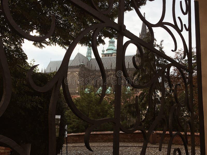 Prague Castle stock photography