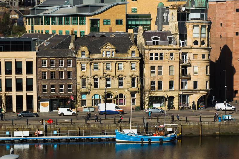 Gateshead royaltyfri fotografi