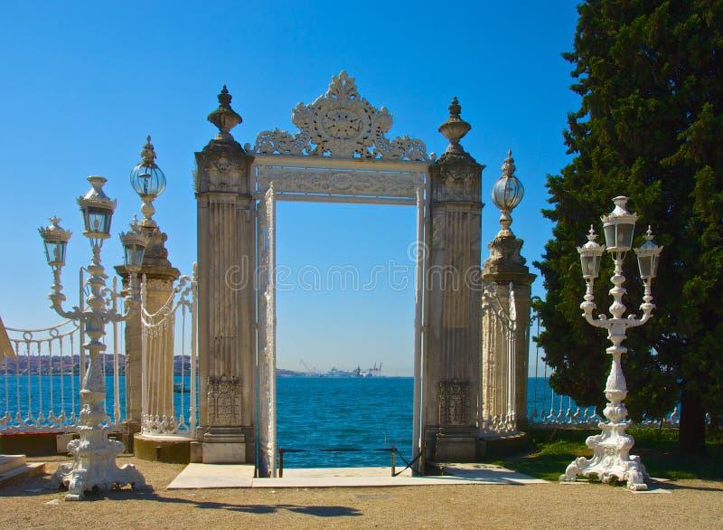 Gateway aan Bosphorus stock afbeelding