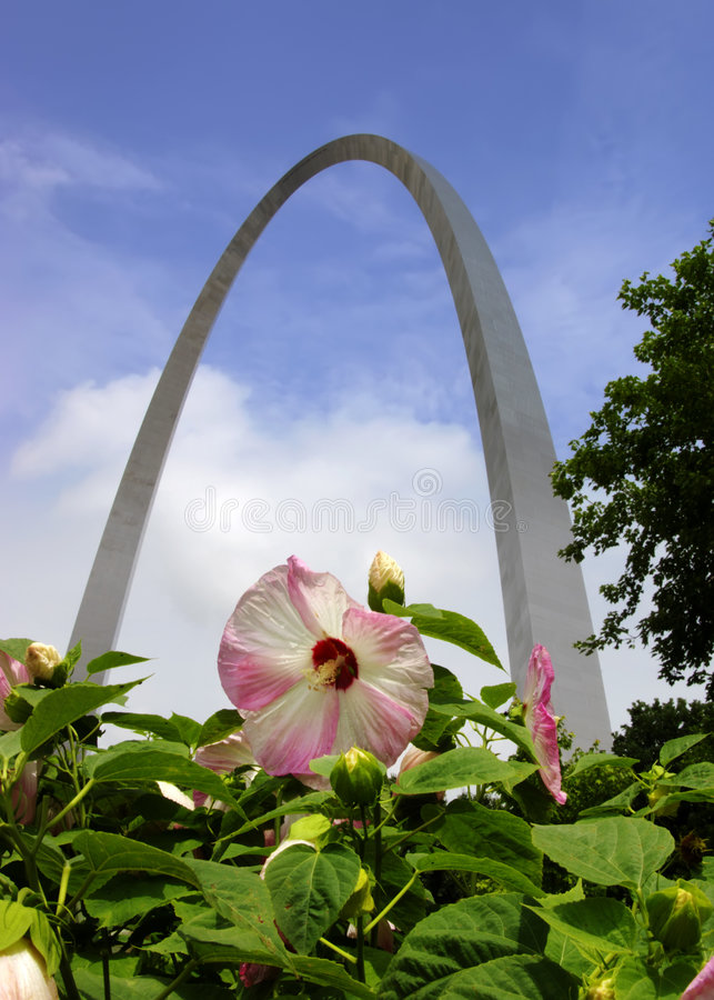 Download Gateway Arch J stock image. Image of monumental, blue - 3082349