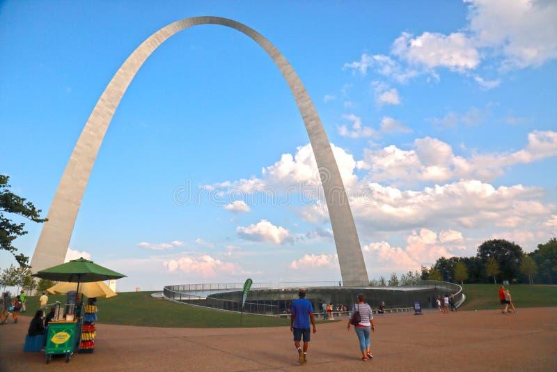 Gateway arch, St. Louis, MO stock image