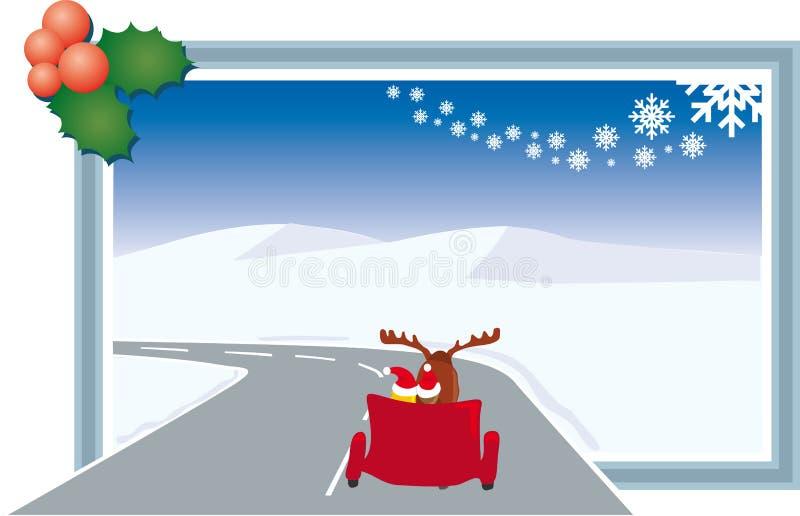 Gateway au temps de Noël illustration libre de droits