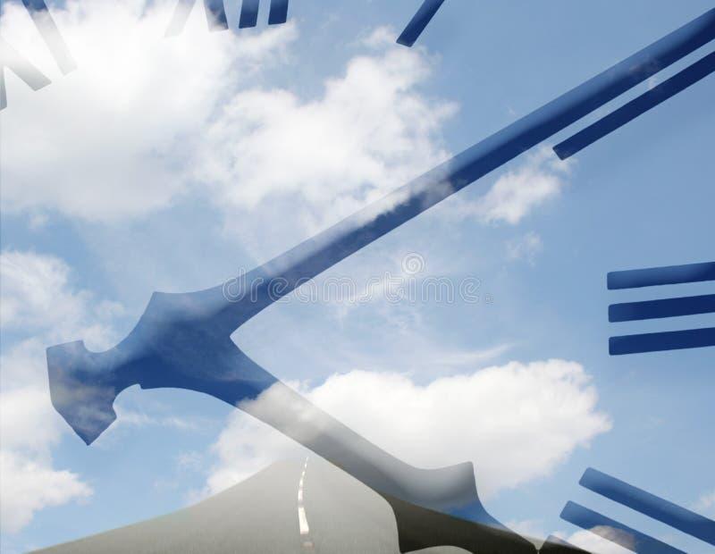 Gateway a cielo illustrazione vettoriale