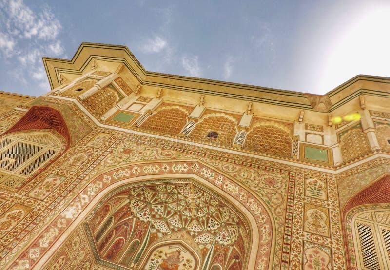 Gateway at city palace stock photo