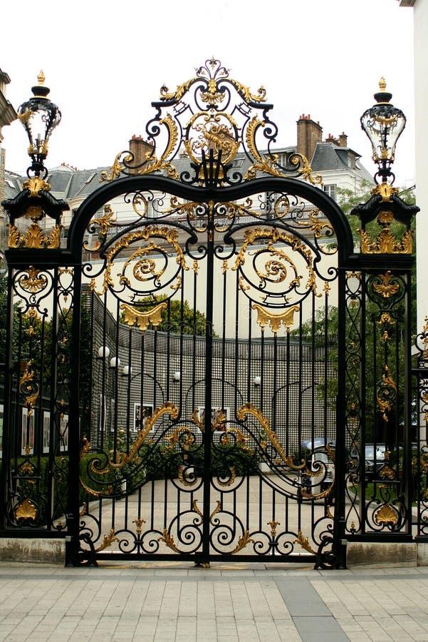 Gateway décoratif photographie stock libre de droits