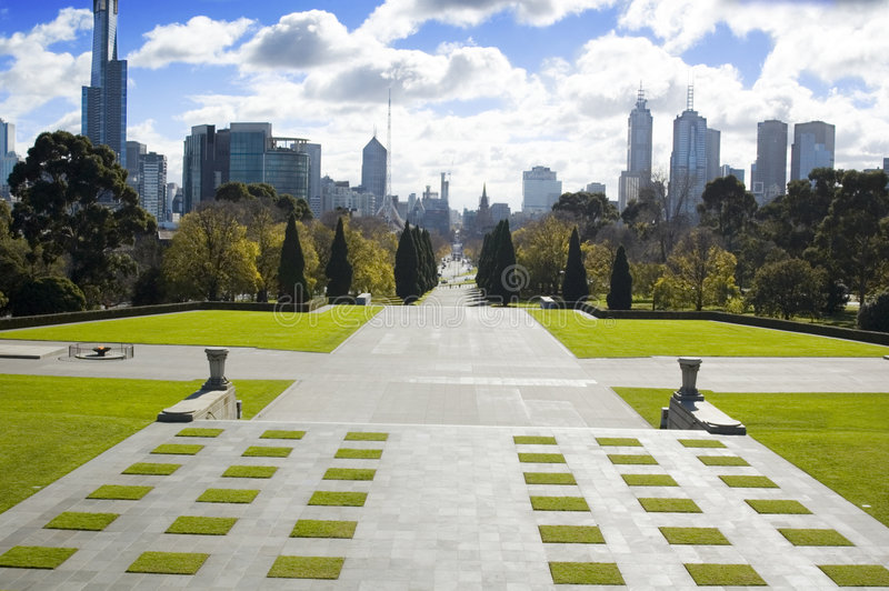 Gateway da cidade imagem de stock royalty free
