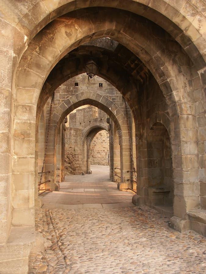 Gateway del castello fotografia stock libera da diritti