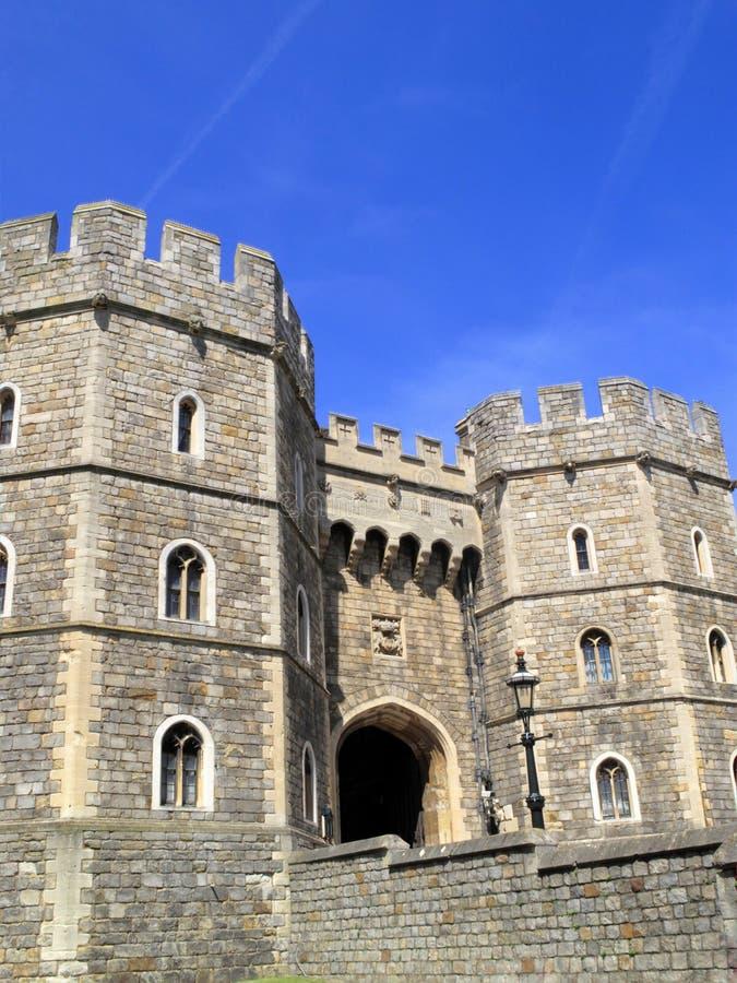 Gateway del Henry VIII del castello di Windsor fotografie stock